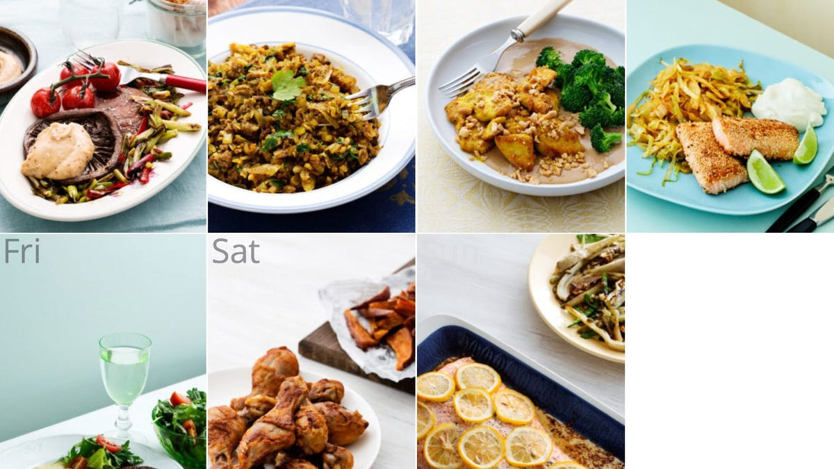 New dairy-free low-carb meal plan