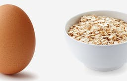 The breakfast wars – eggs vs. oatmeal