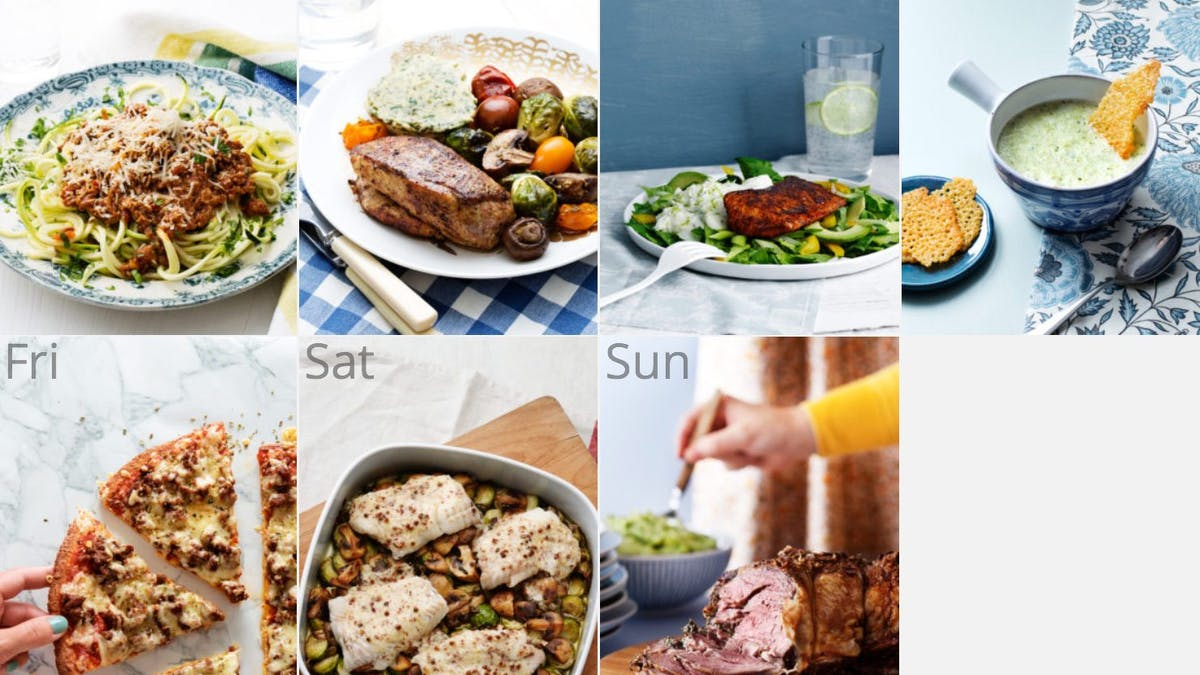 New low-carb keto meal plan