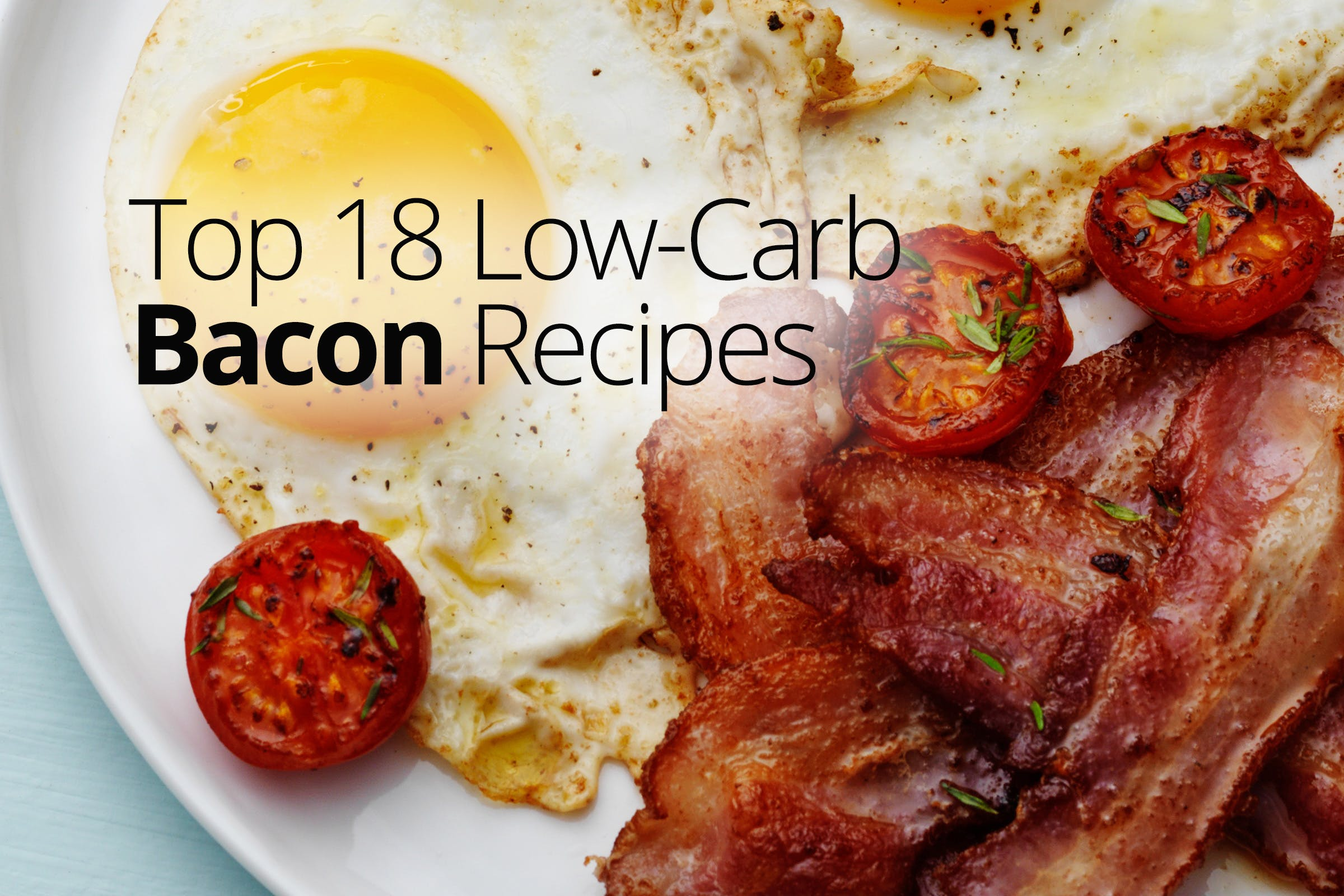 Low-carb bacon recipes