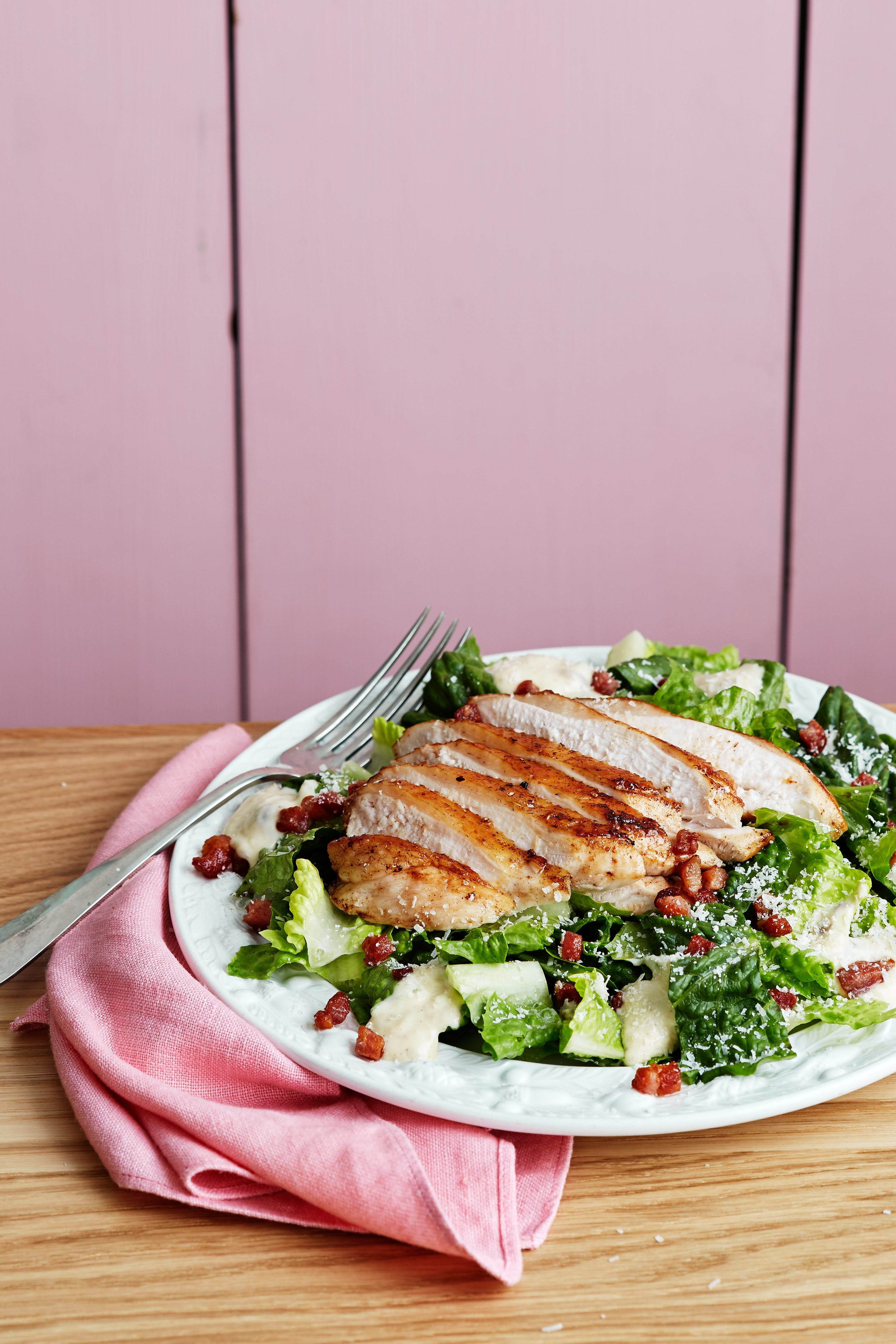 Salade Keto Caesar
