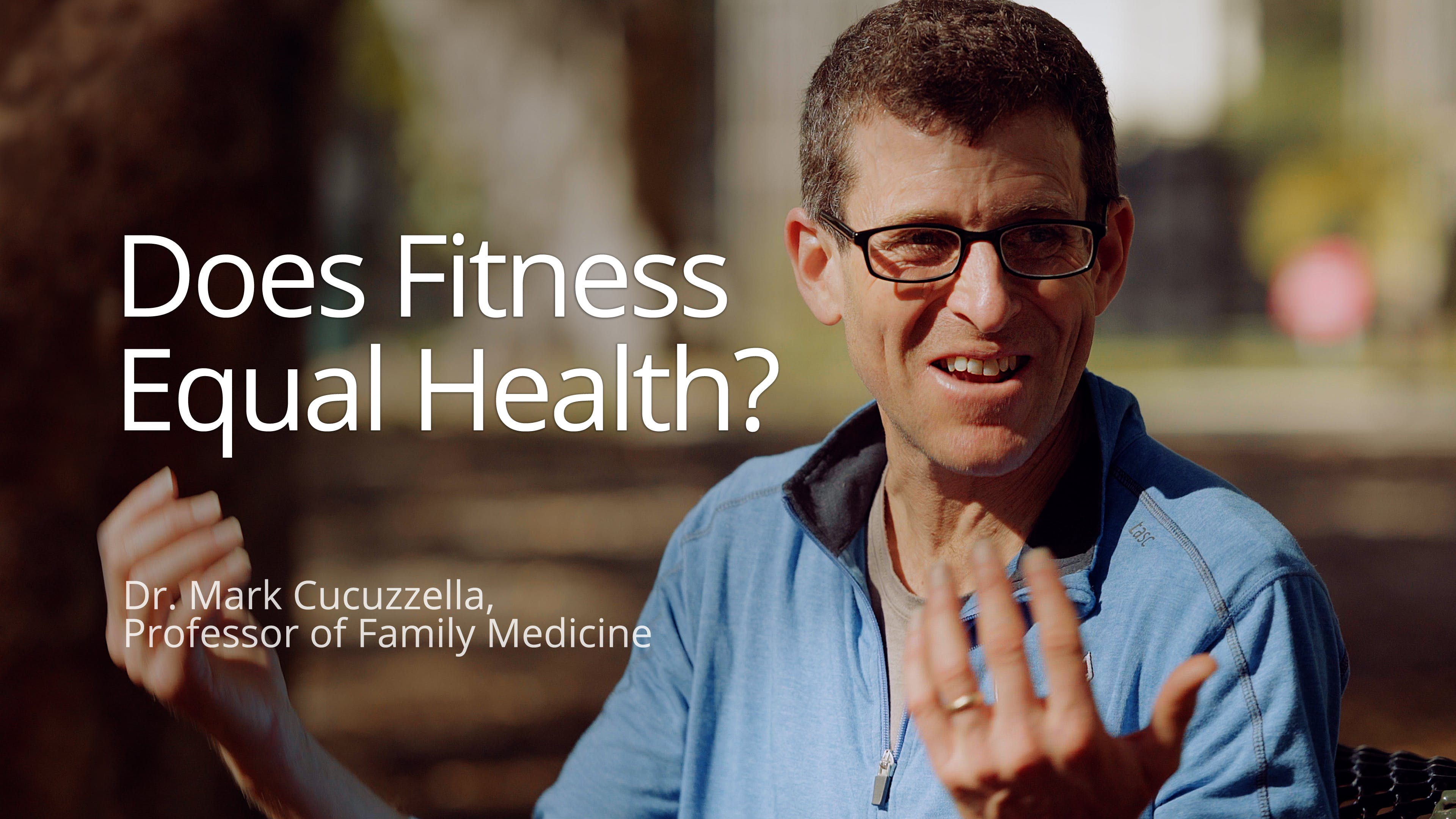 Does fitness equal health?