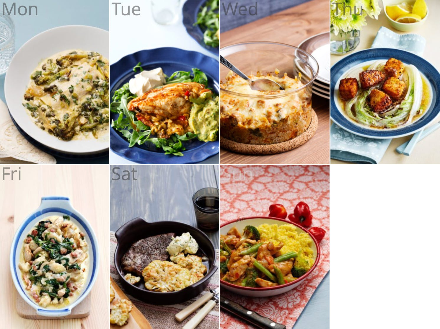 New <strong>Low-Carb and Egg-Free</strong> Meal Plan