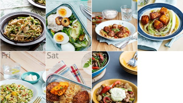 New low-carb and dairy-free meal plan