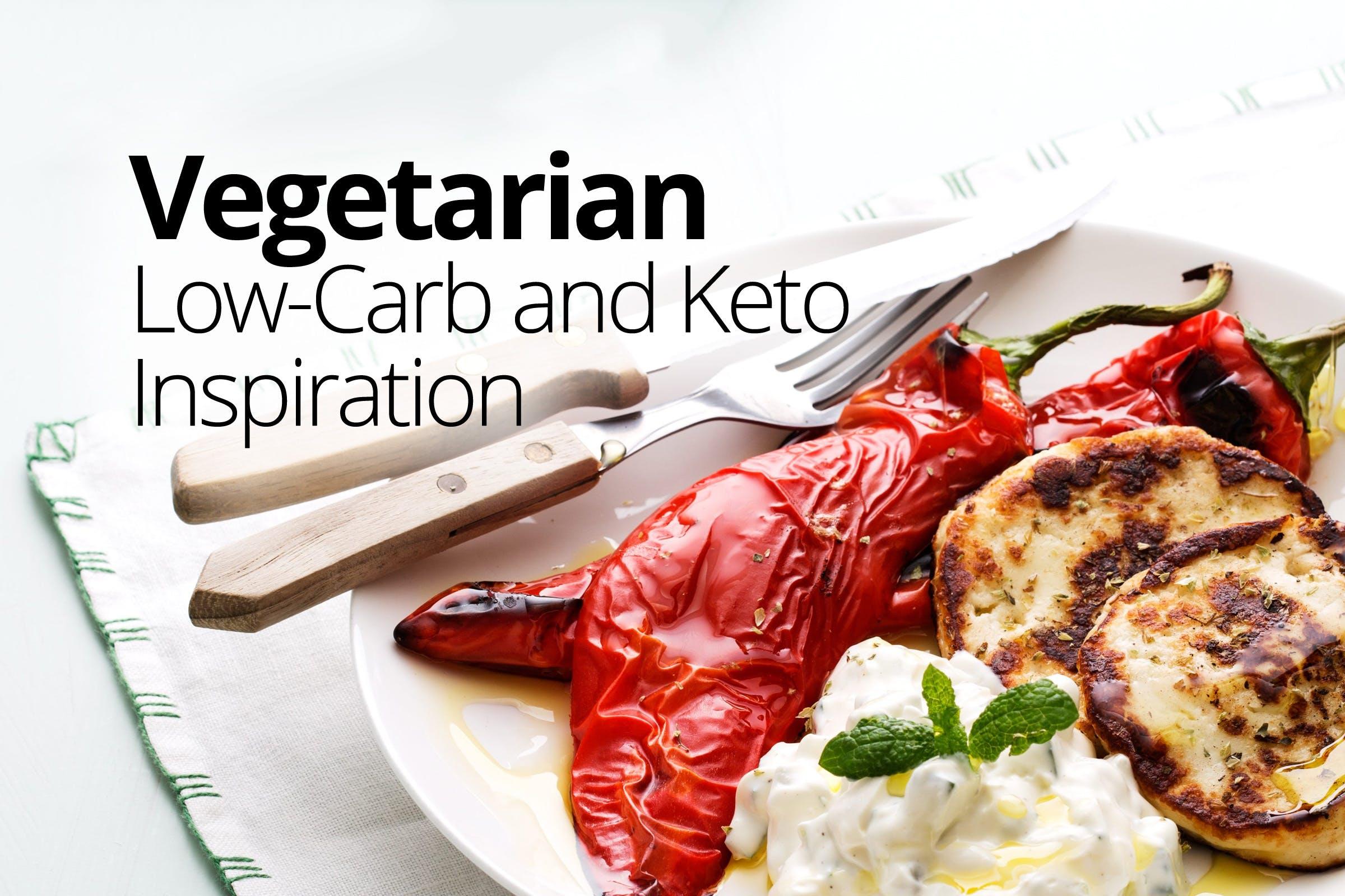Vegetarian low-carb inspiration