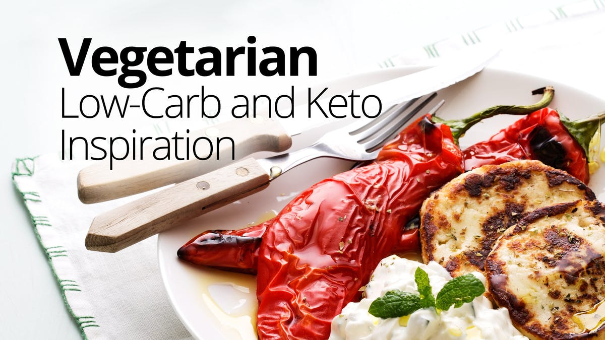 Vegetarian low-carb and keto inspiration