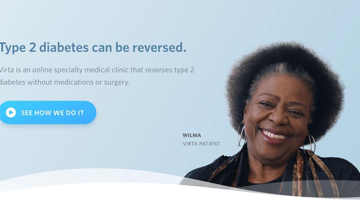 The launch of Virta Health – reversing type 2 diabetes in 100 million people?