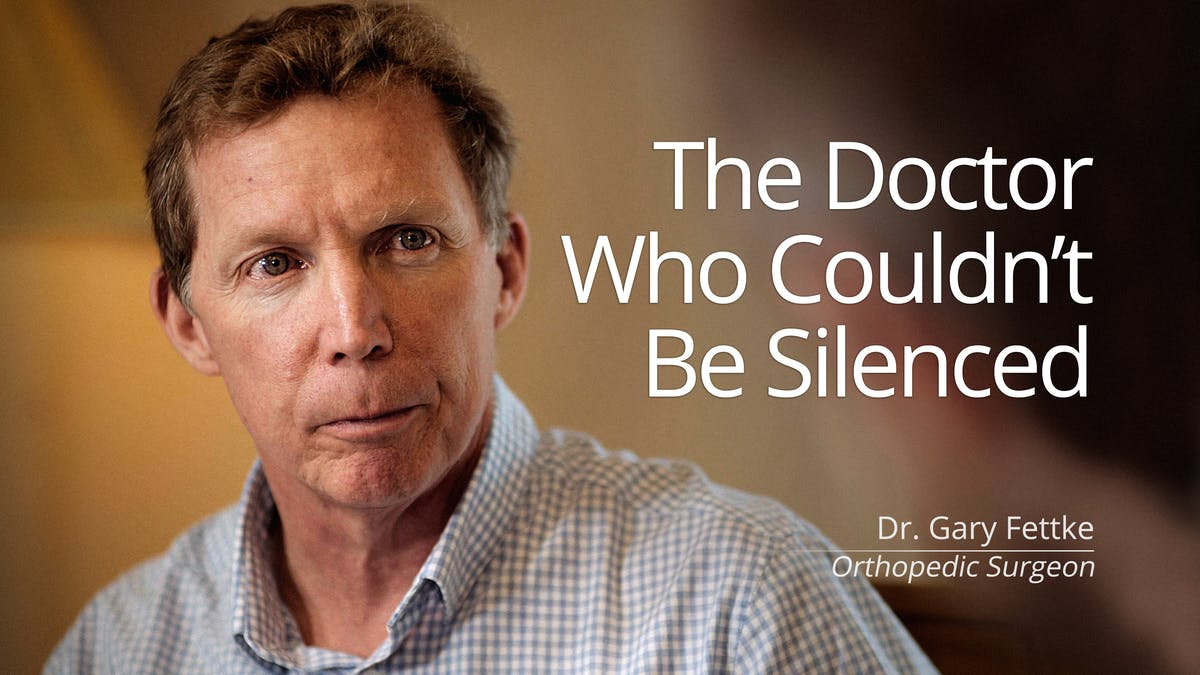 The doctor who couldn't be silenced