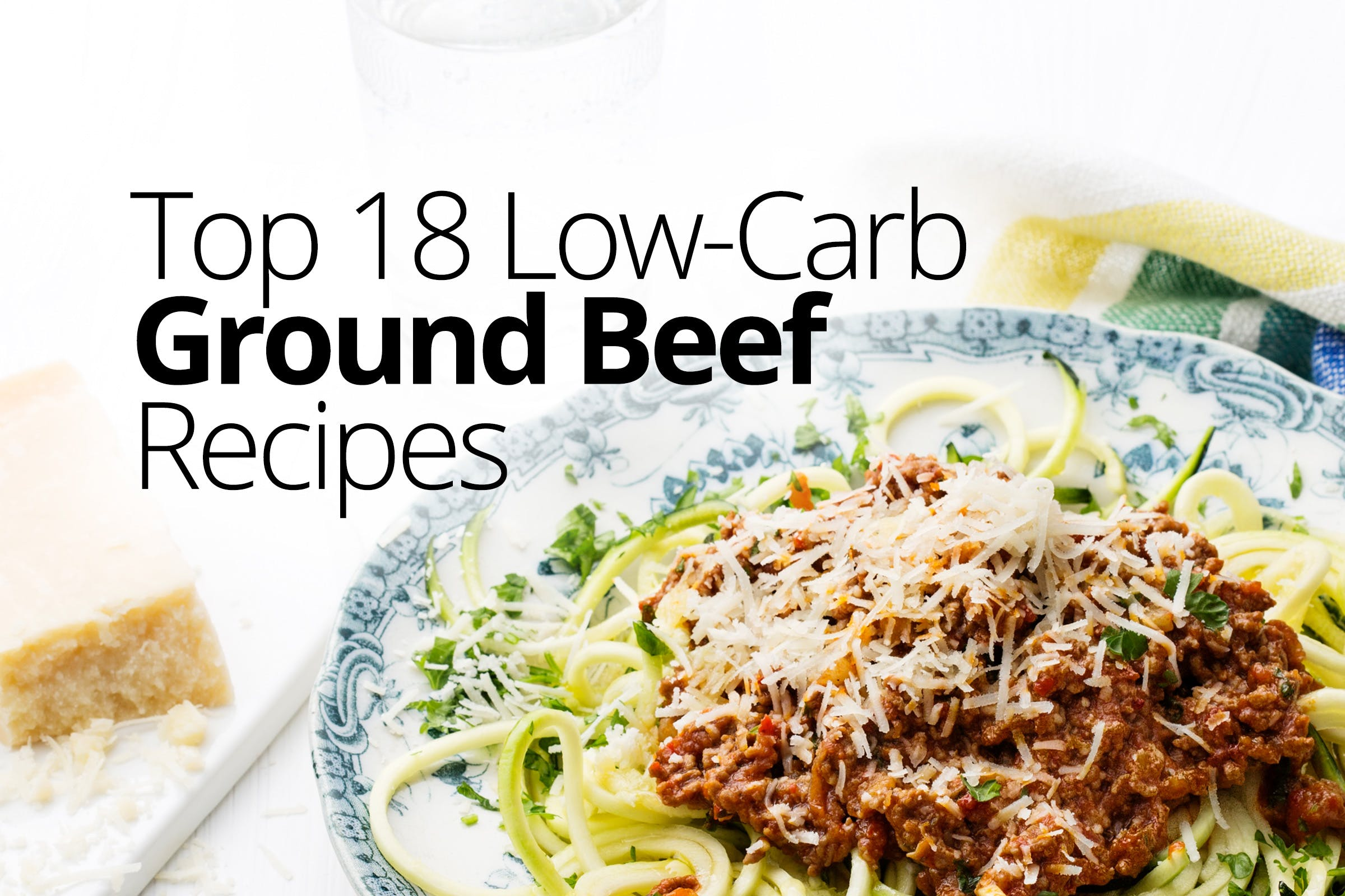 Low-carb and keto ground-beef recipes