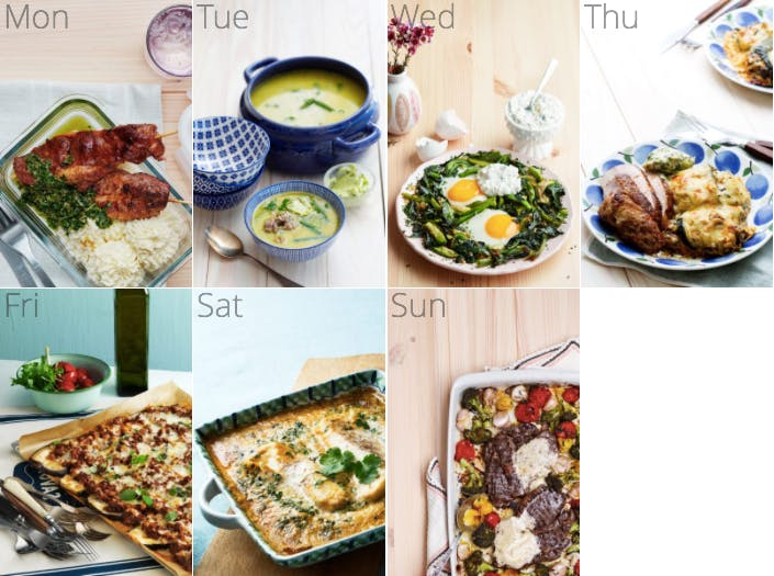 New low-carb meal plan