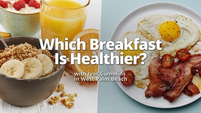 Which breakfast is the healthiest?