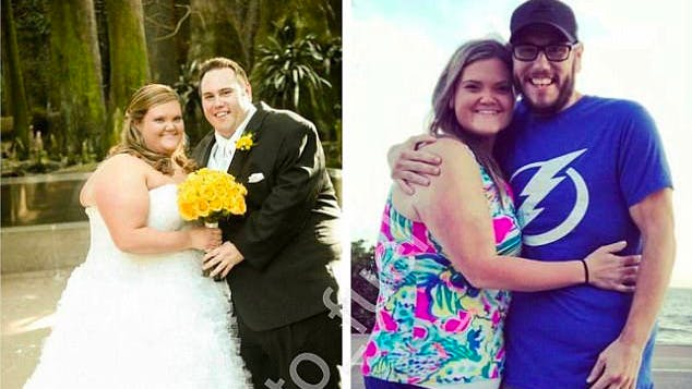 Keto couple sheds 400 pounds together