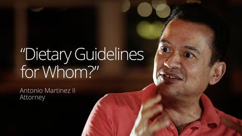 """Dietary guidelines for whom?"""
