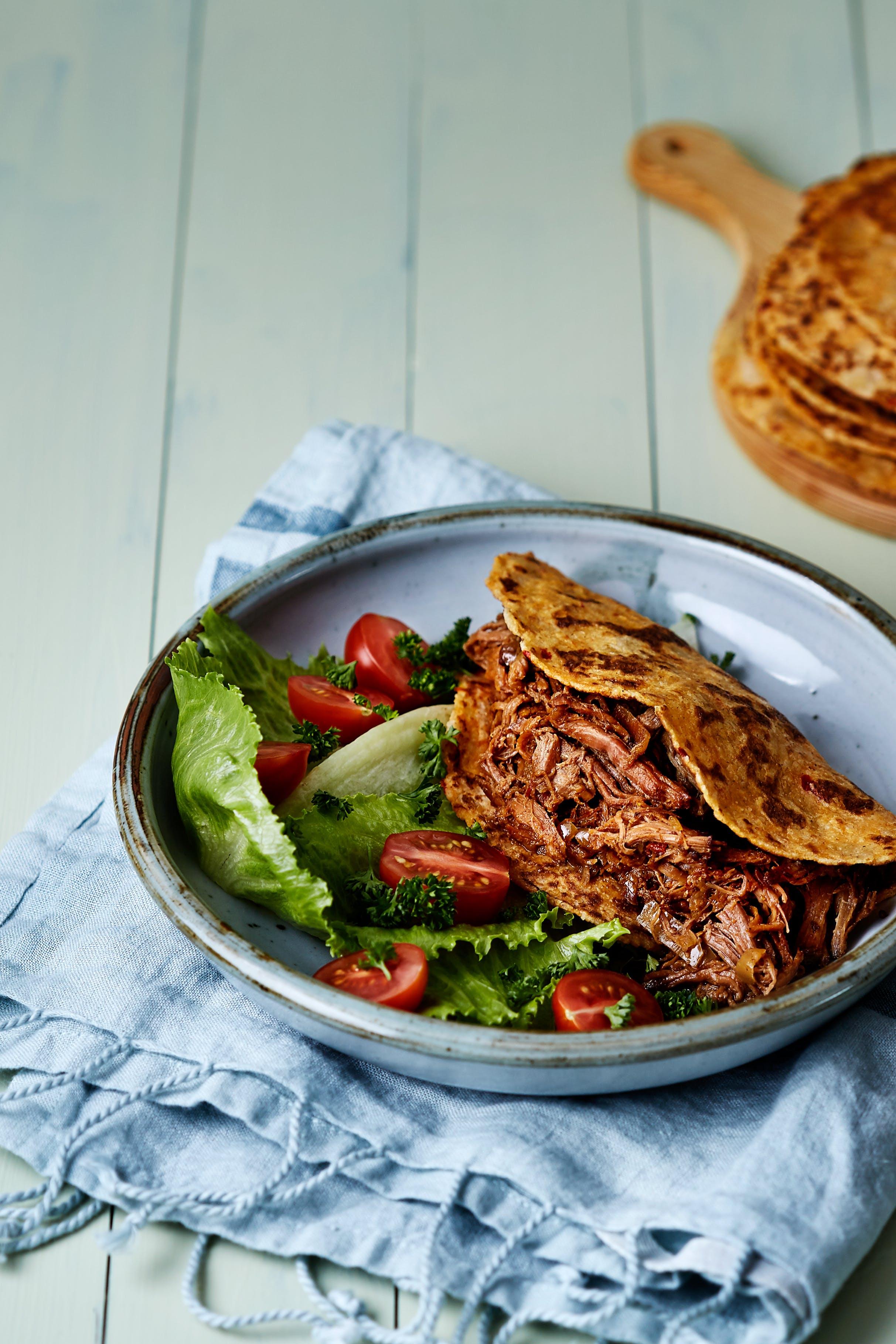 Slow-cooker Moroccan beef