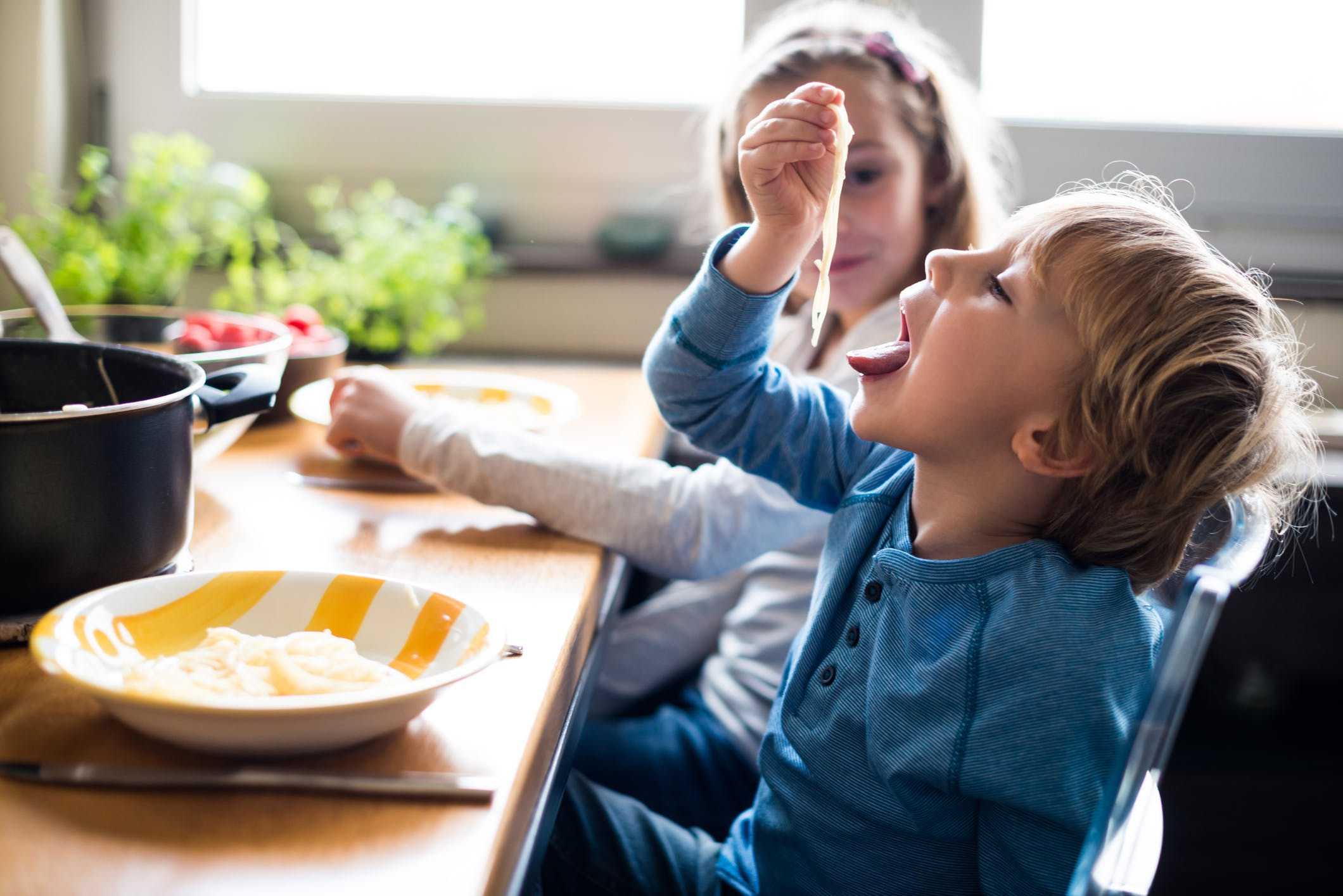 Children Who Eat Pasta Have a Better Diet Quality, Says the National Pasta Association