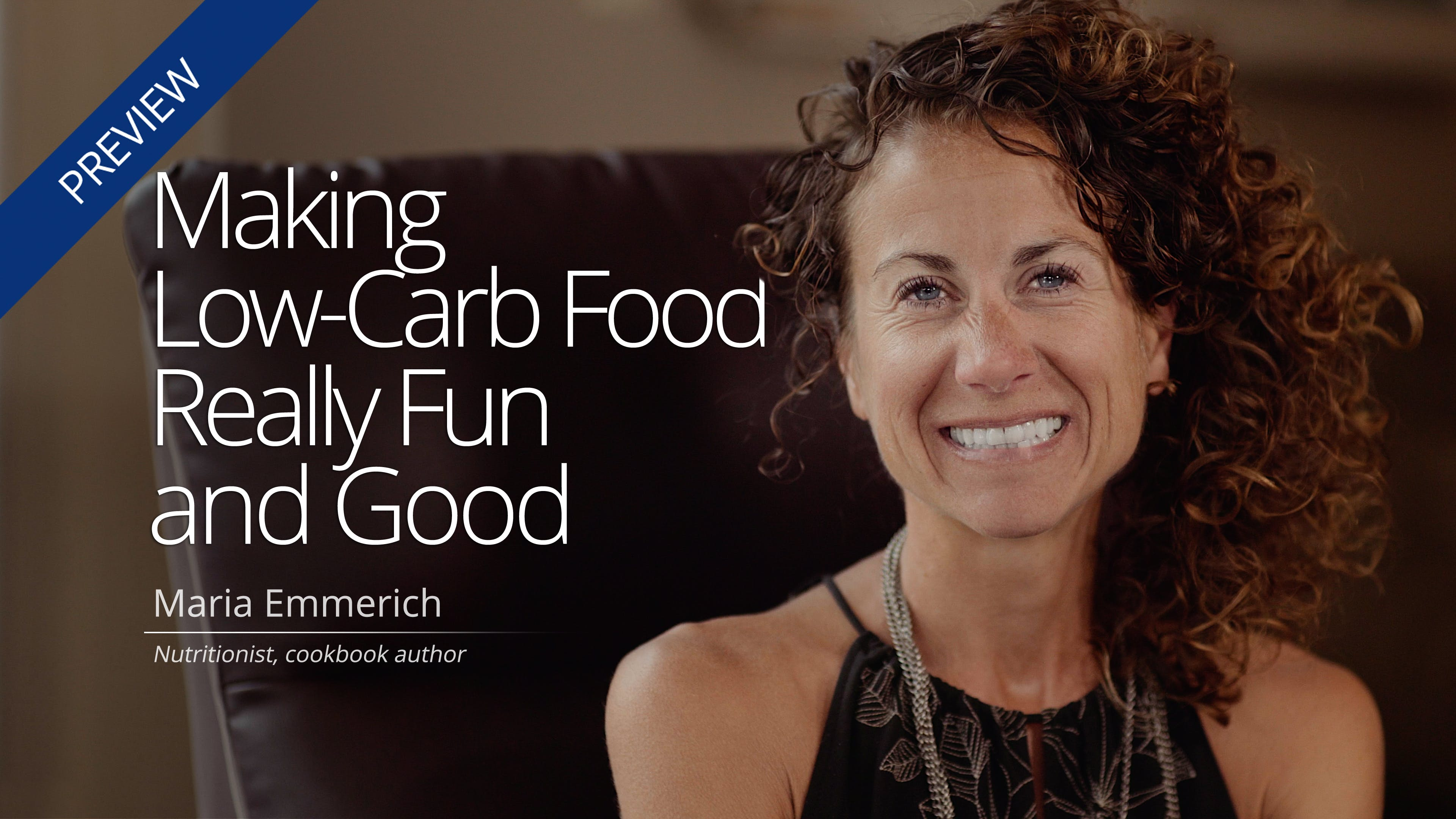 Making Low-Carb Really Fun and Good