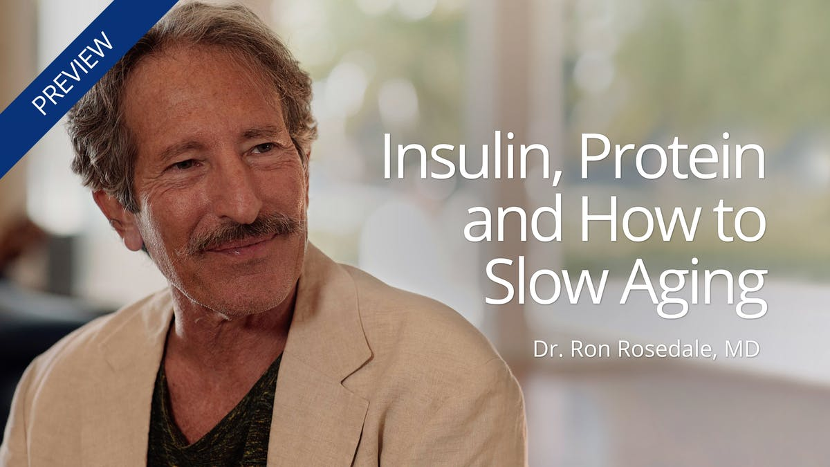 Insulin, protein and how to slow aging