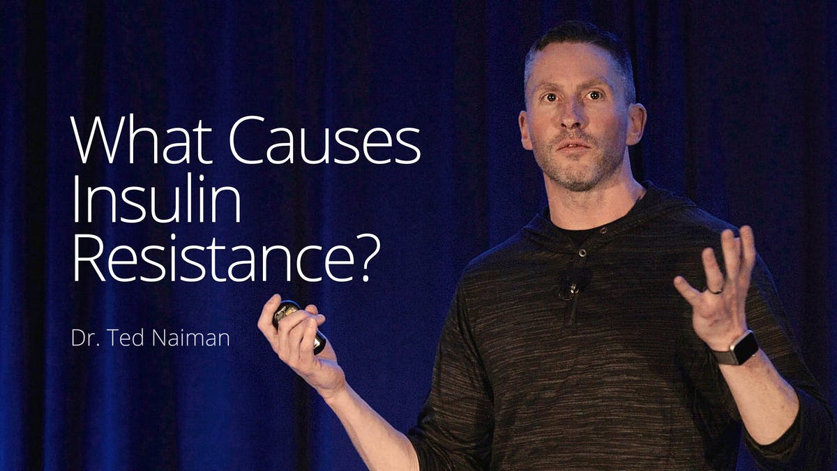 What causes insulin resistance?