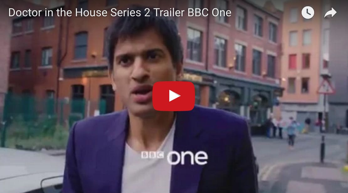 Doctor in the House season two with Dr. Chatterjee on BBC One
