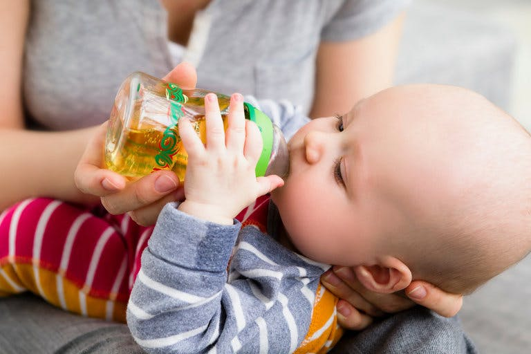 New Recommendation: No Fruit Juice for Children Under the Age of One