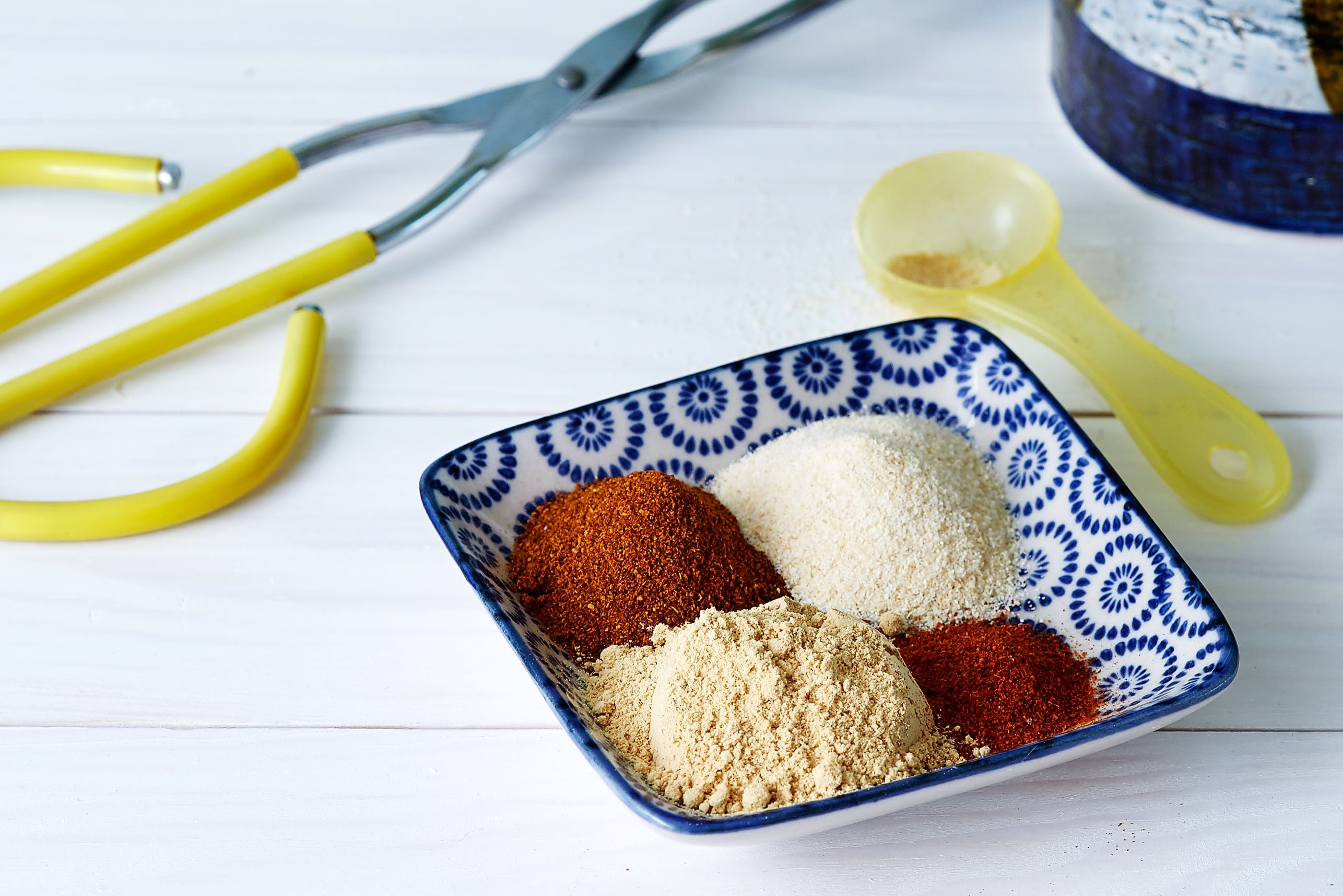 Barbecue seasoning with ginger