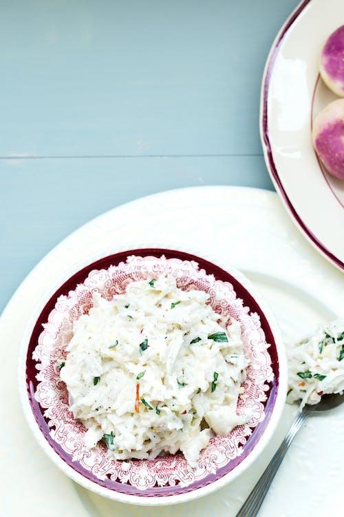 Creamy turnip slaw