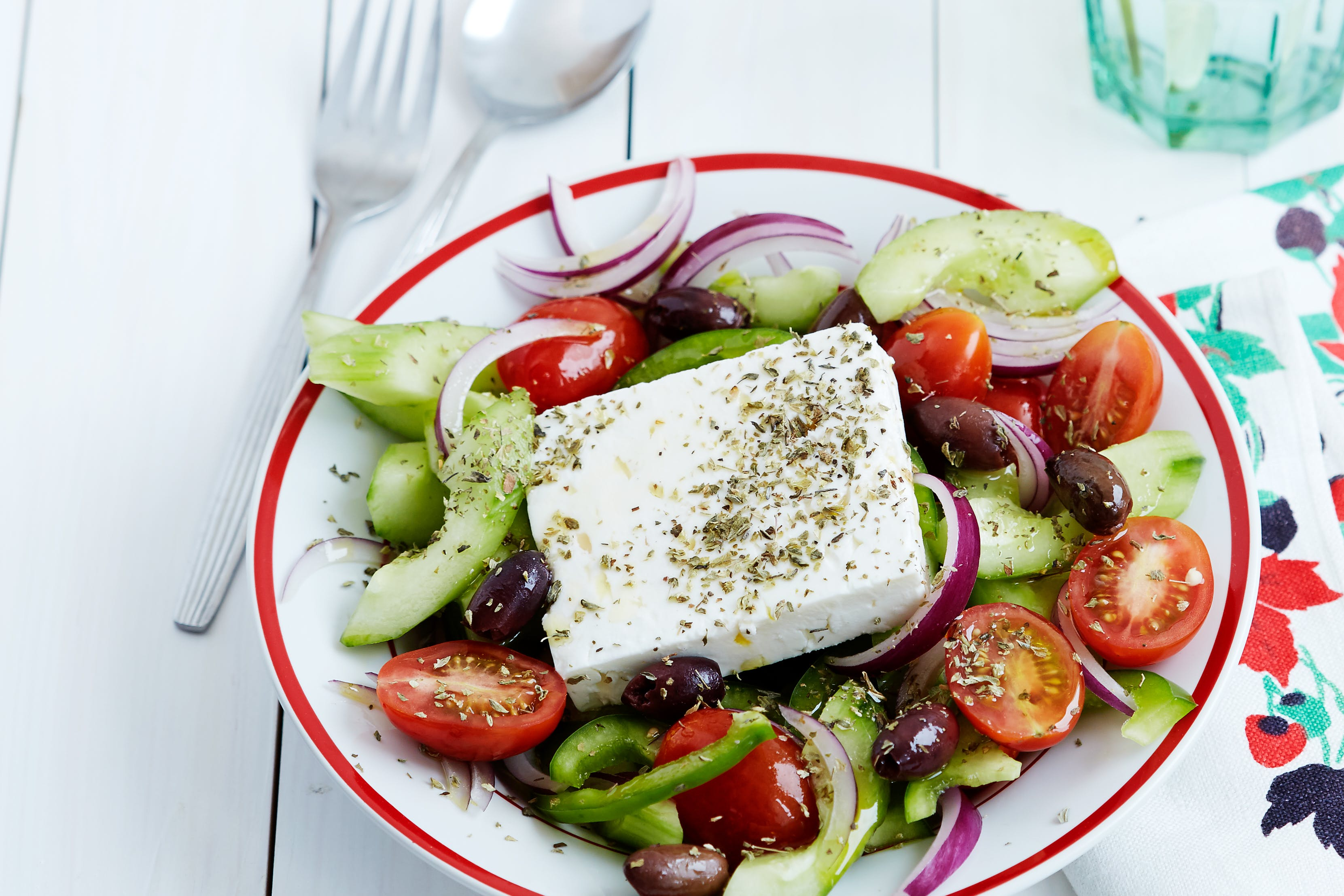 Greek Salad - Authentic Low-Carb Recipe - Diet Doctor