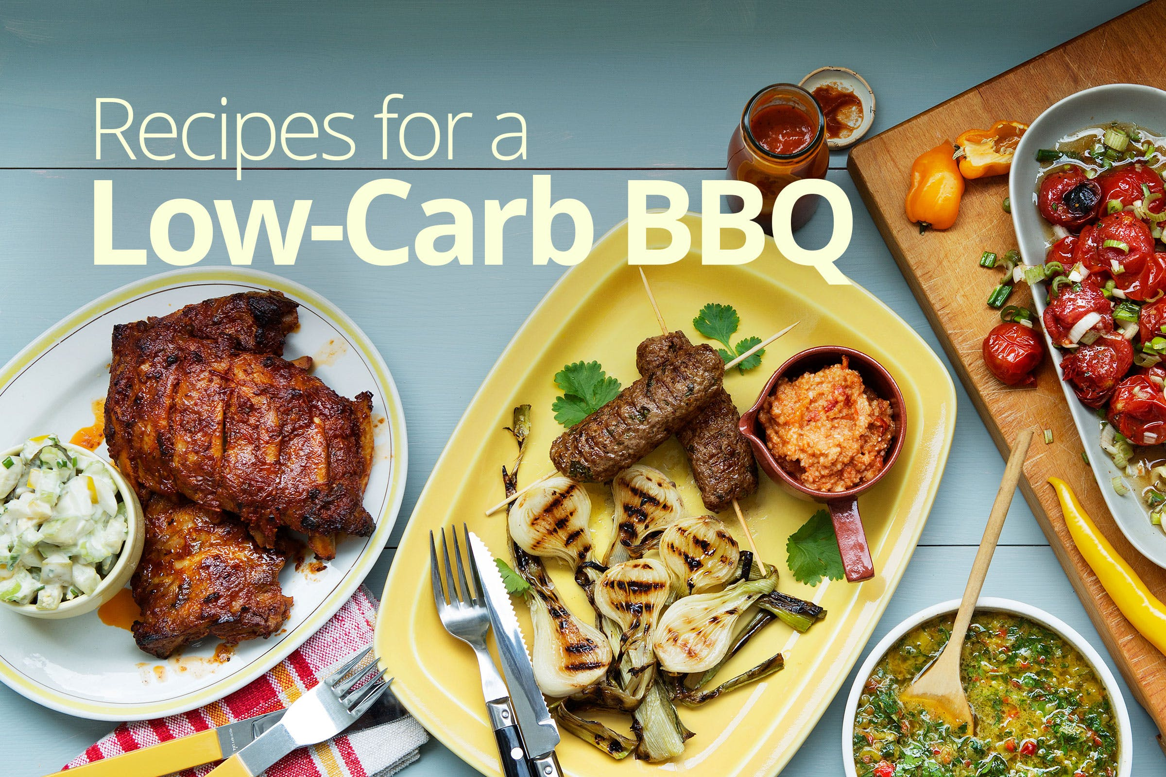 Celebrate Summer with a Low-Carb and Keto Barbecue