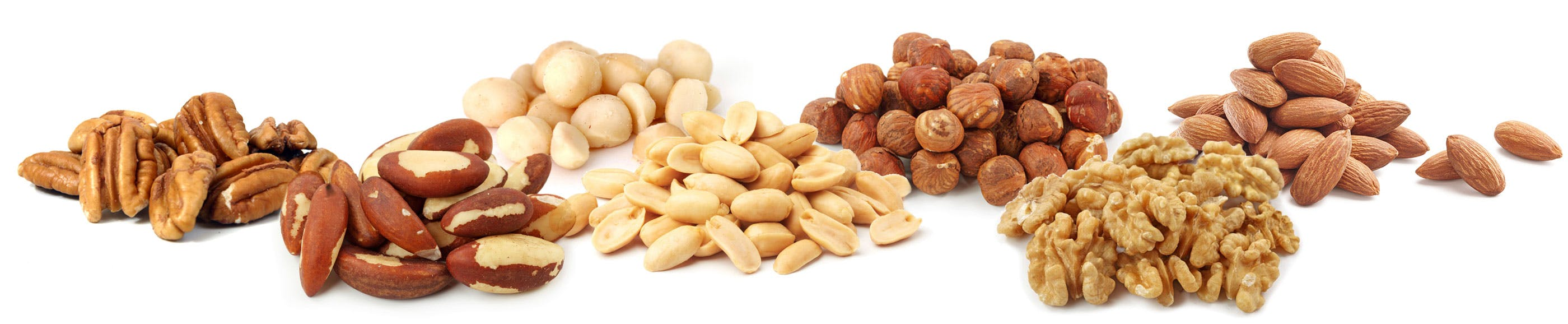 Top 7 low-carb nuts