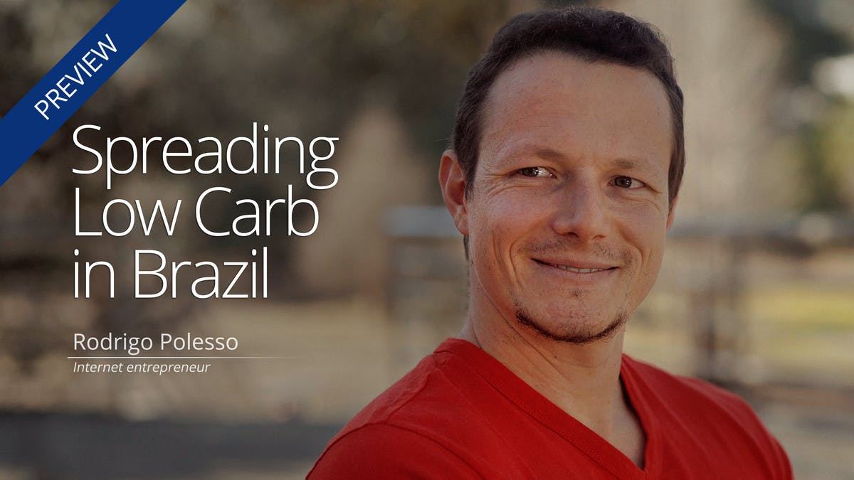 Helping people learn low carb in Brazil