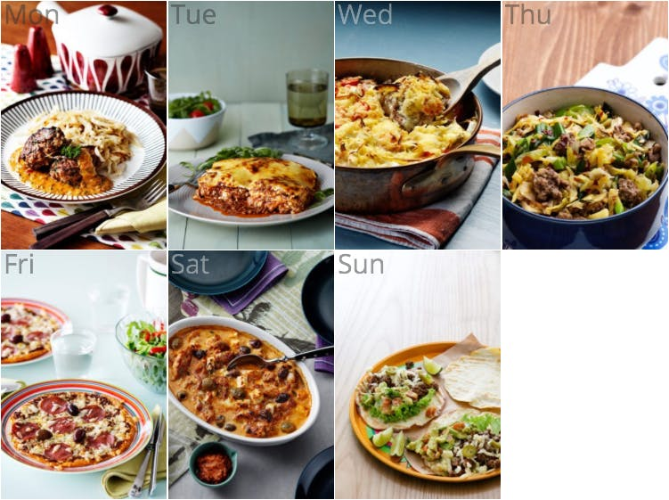 New keto meal plan with our most popular recipes