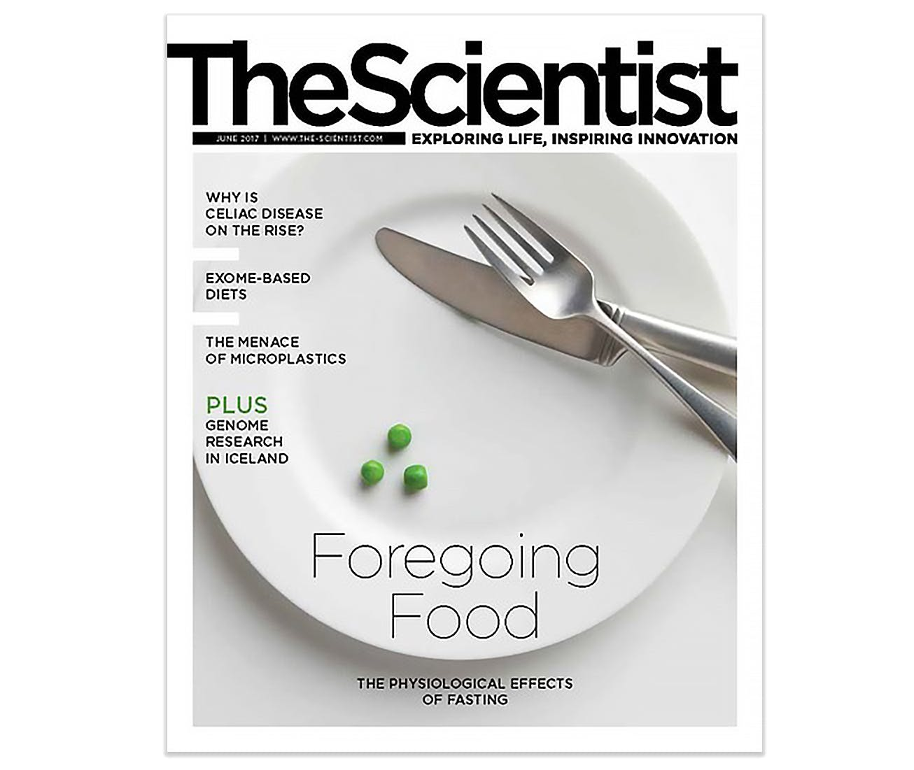 Intermittent Fasting Featured as Cover Story in 'The Scientist'