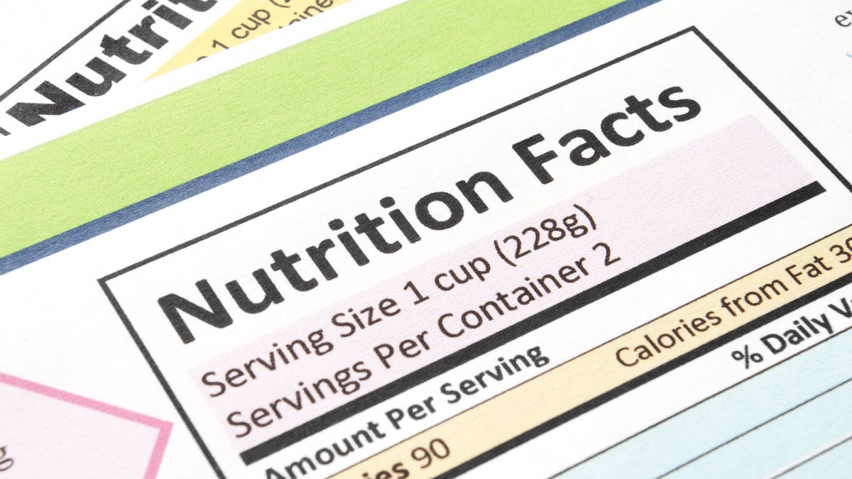 How to use the nutrition facts label