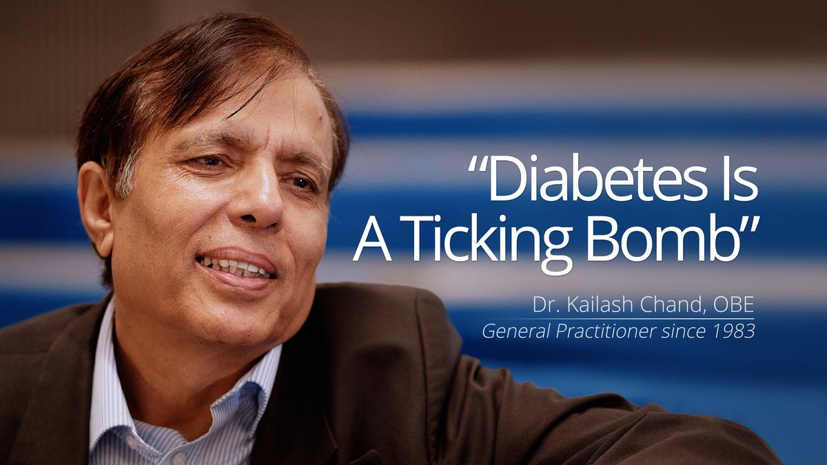 """Diabetes Is a Ticking Bomb"""