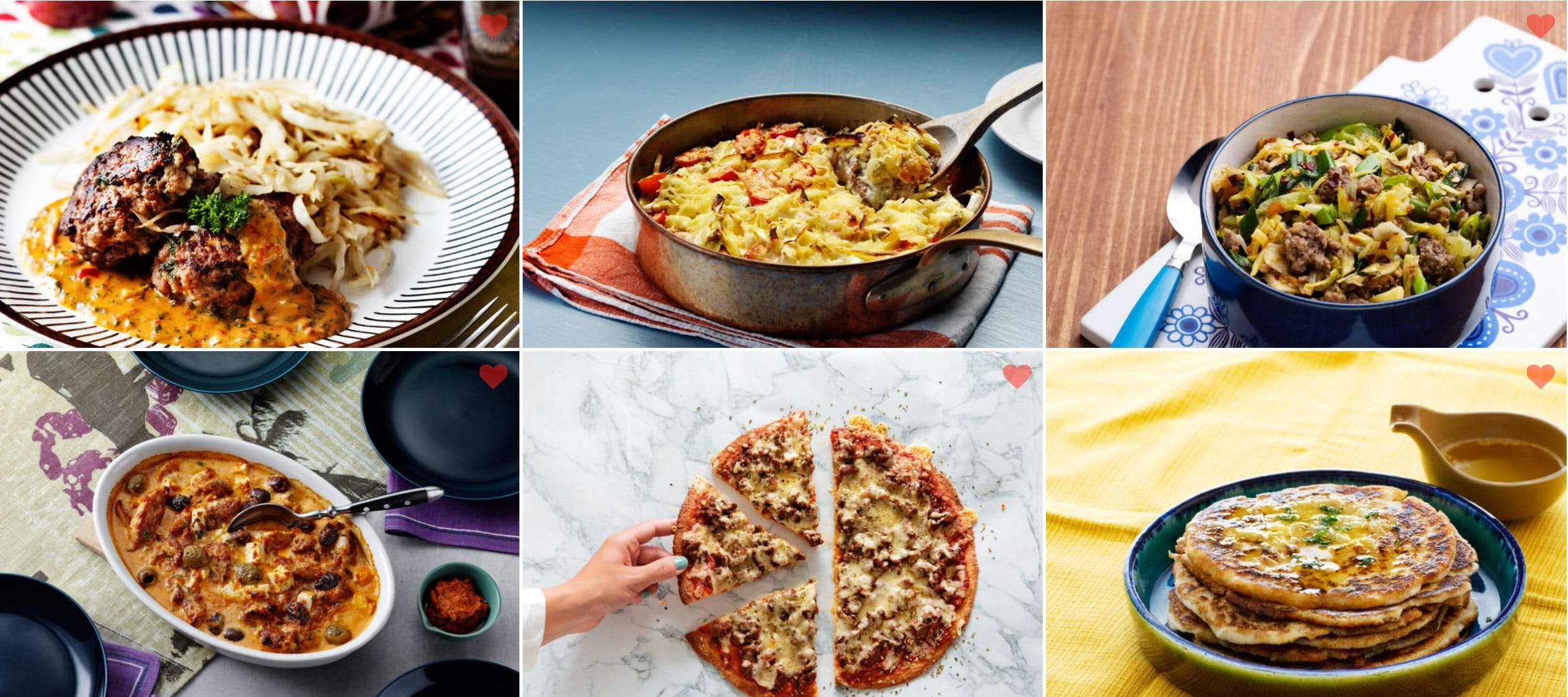 New <strong>Keto Recipes</strong> Page