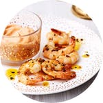 Keto shrimp, tuna, scallop and fish & seafood appetizers