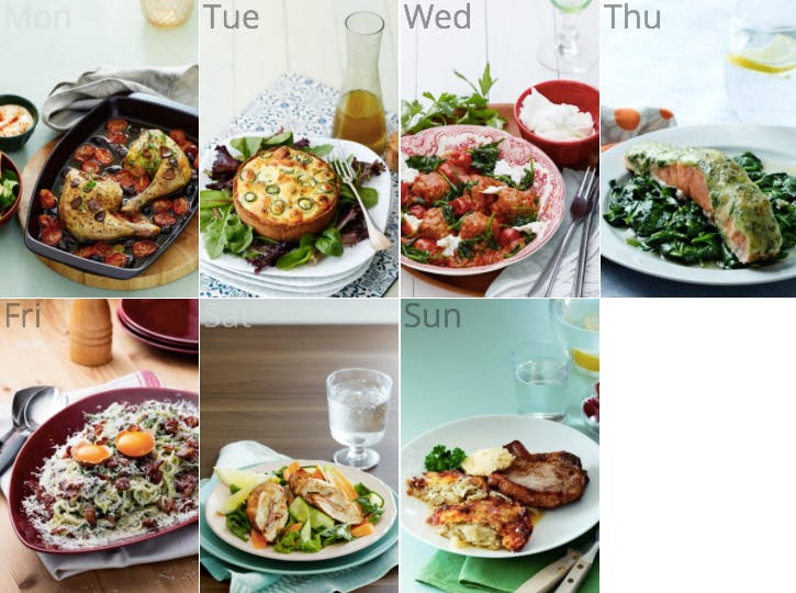 New keto meal plan