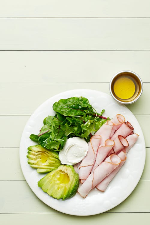 Keto turkey plate