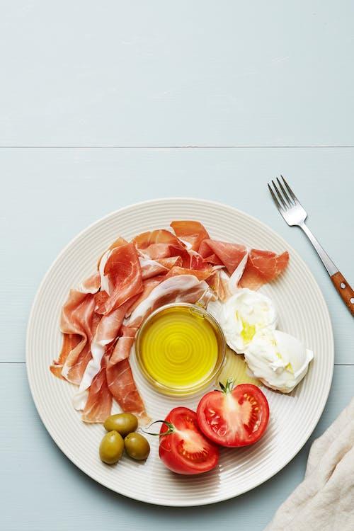 Italian keto plate