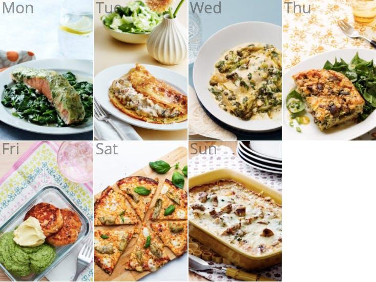 New keto pescetarian meal plan