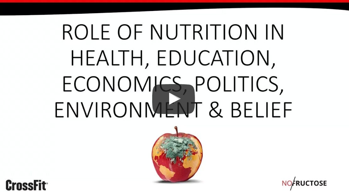The role of nutrition in everything