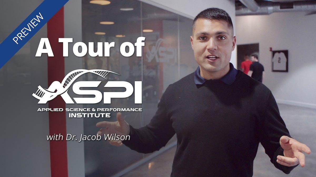 ASPI tour with Dr. Jacob Wilson