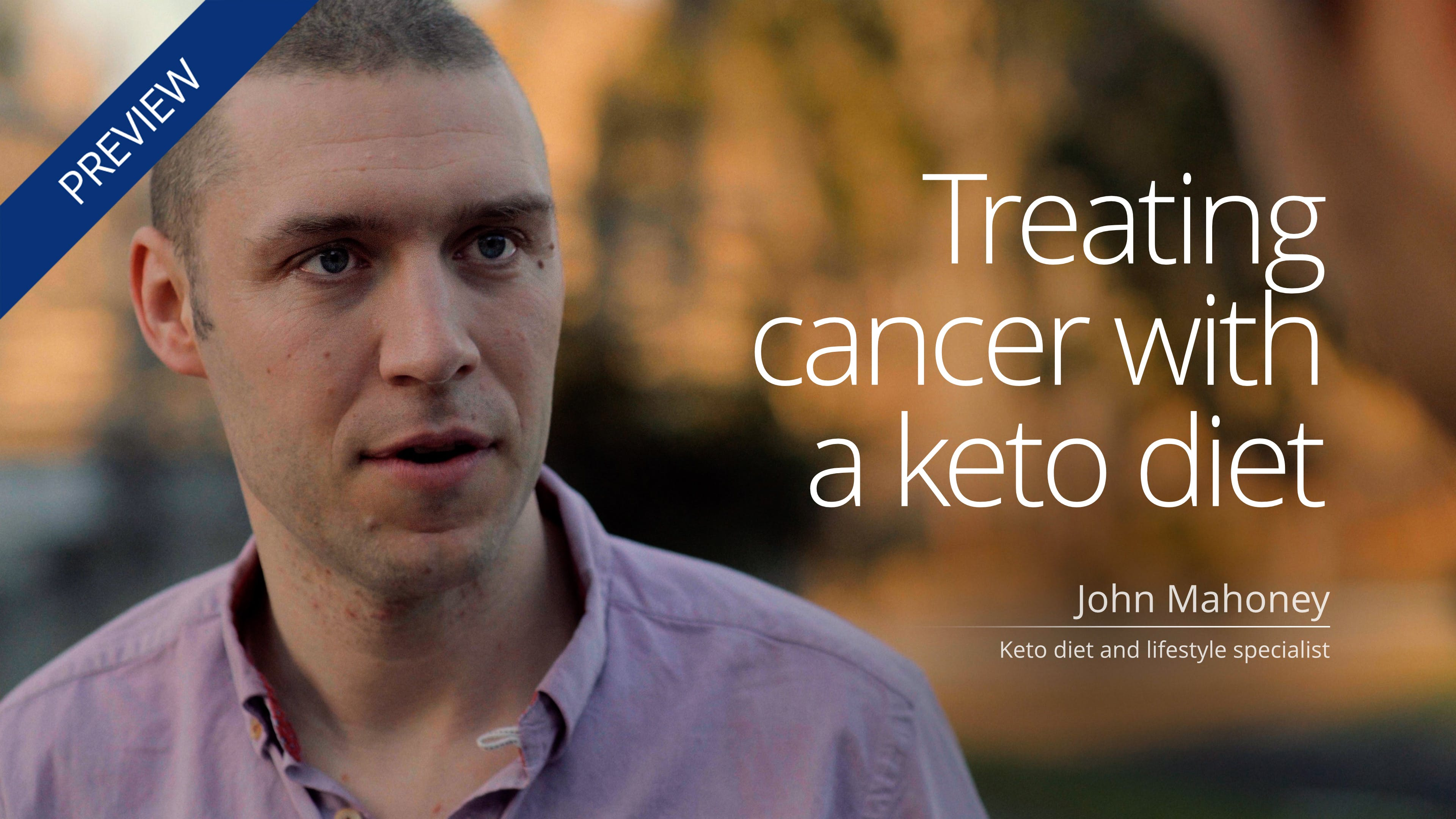 Treating cancer with a keto diet