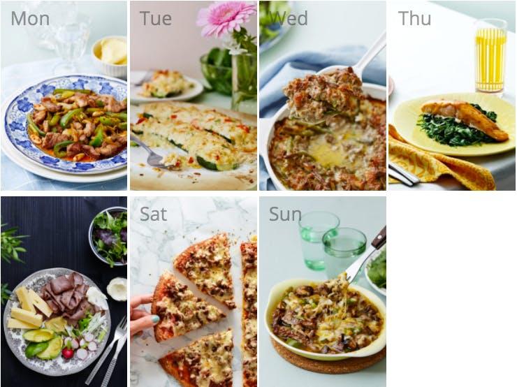 New keto diet meal plan
