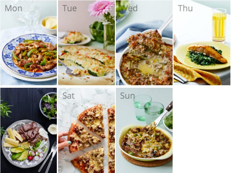 New keto diet meal plan