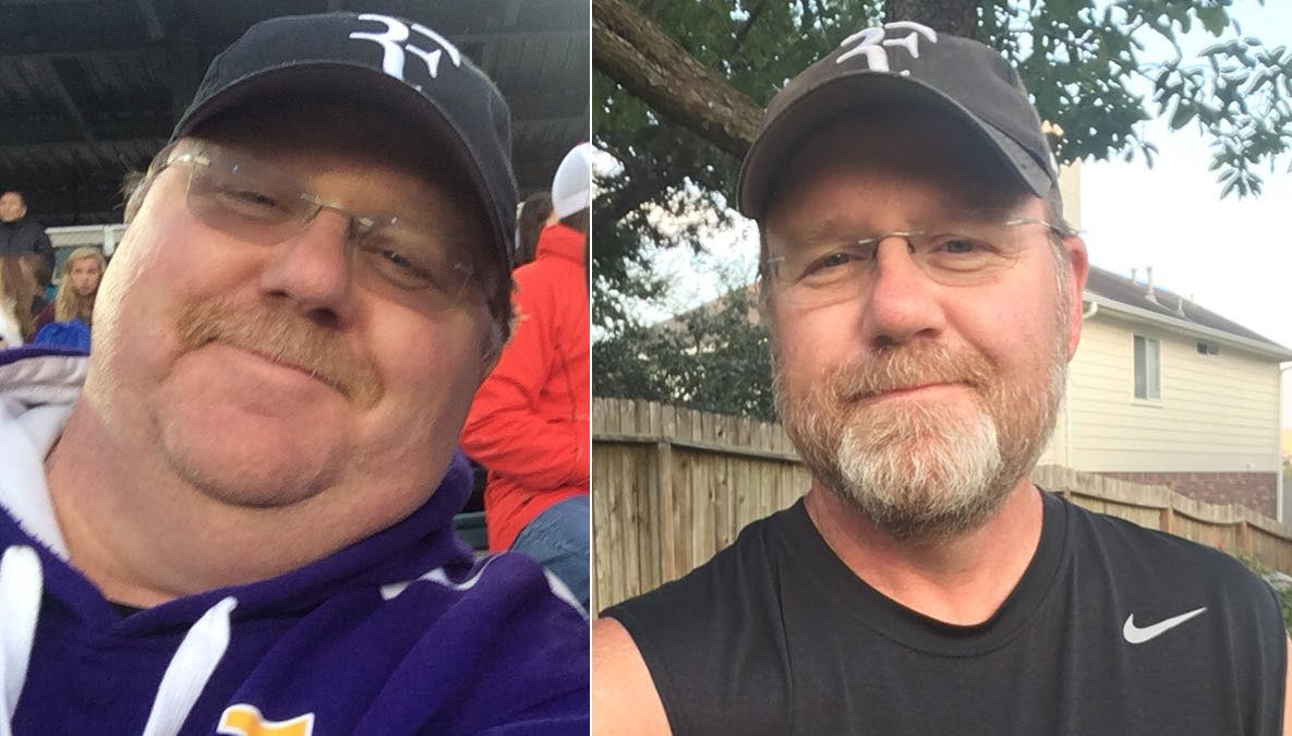 A 100 pounds lighter and type 2 diabetes reversed thanks to low carb and fasting