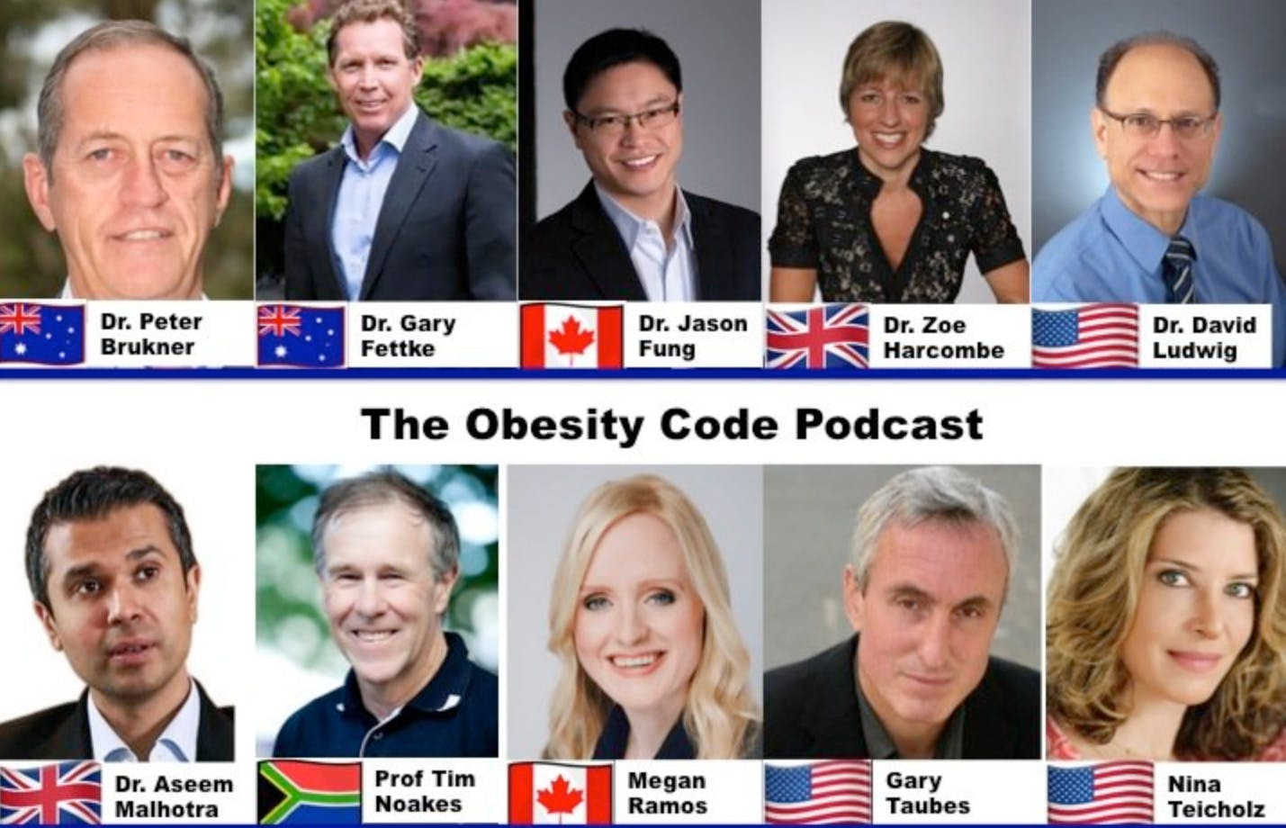 Brand new: Listen to the Obesity Code Podcast