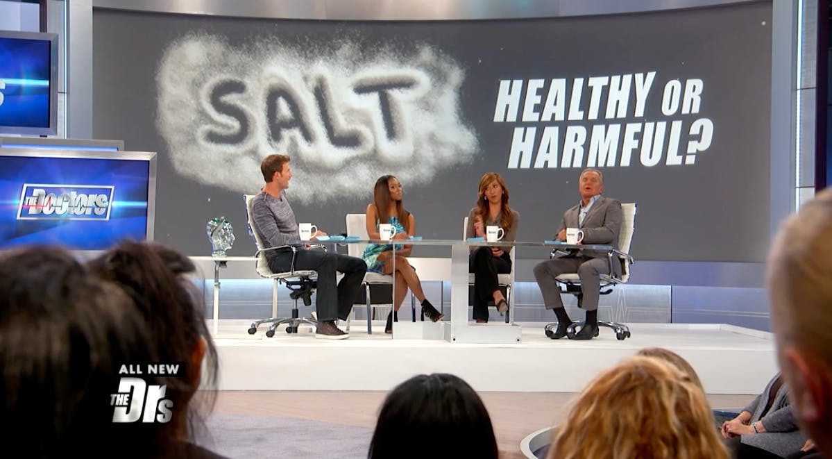 The Doctors: Could salt actually not be harmful to your health?