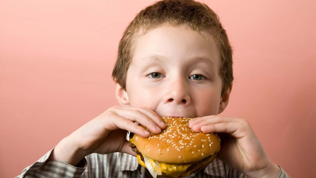 Tenfold increase in childhood obesity, compared to 40 years ago