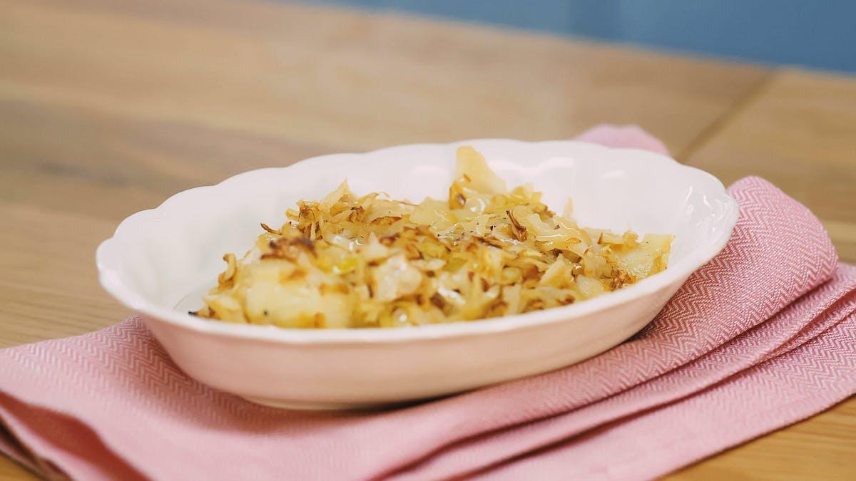 黄油炸卷心菜